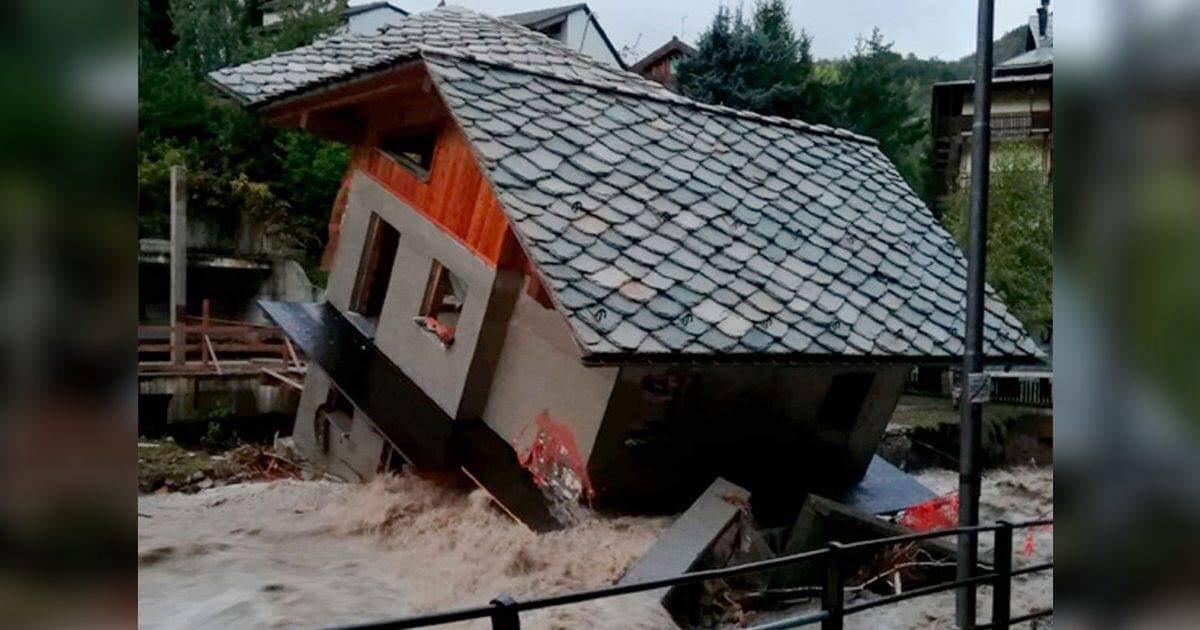 floods hit Franc