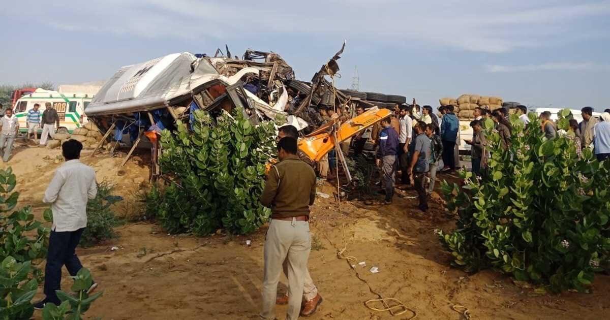 Bikaner road accident