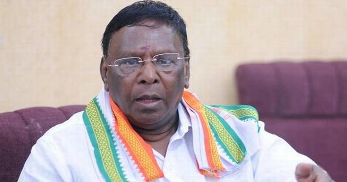 CM V Narayanasamy