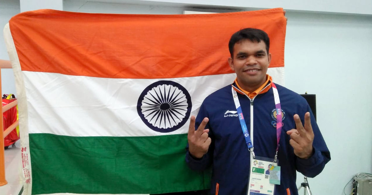 Indian Shooter Deepak Kumar