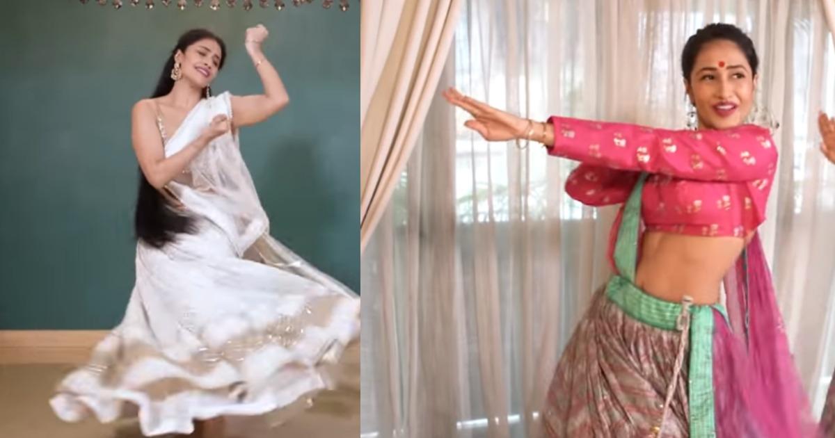 Dhanashree Verma Navratri Special Dance