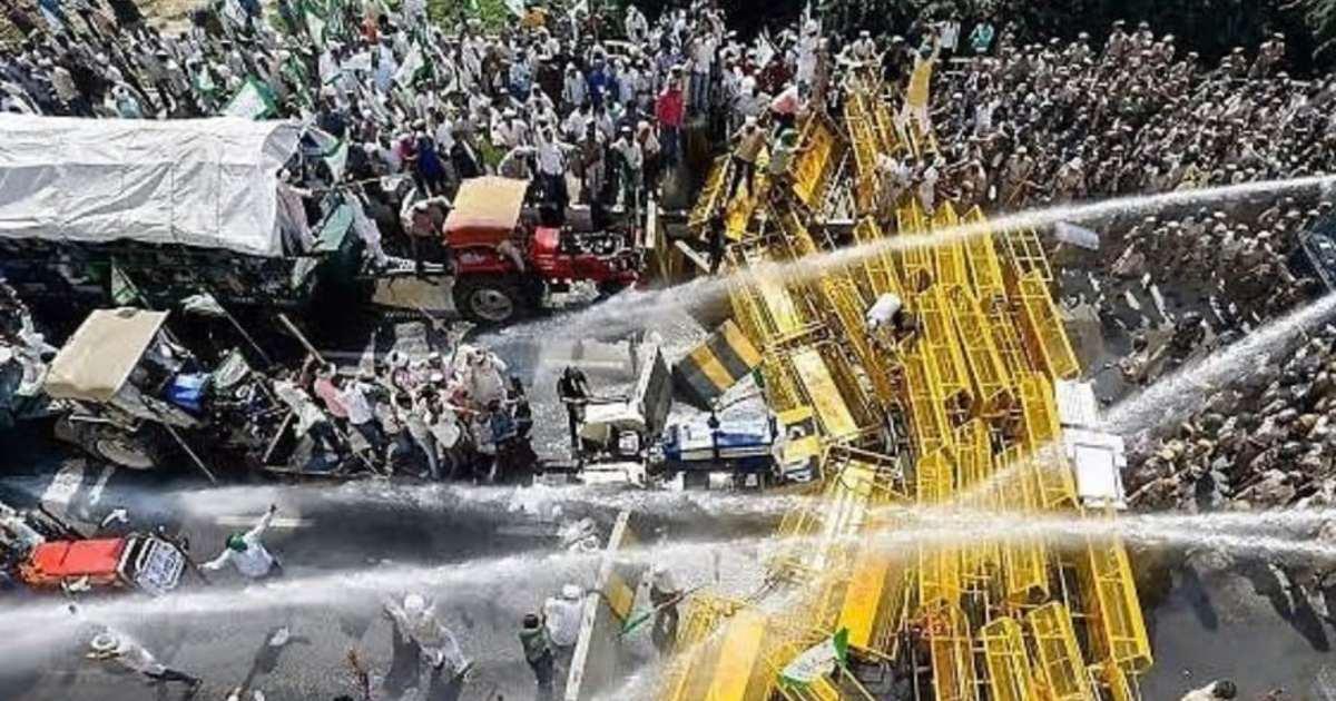 Punjab Farmers Protest 1