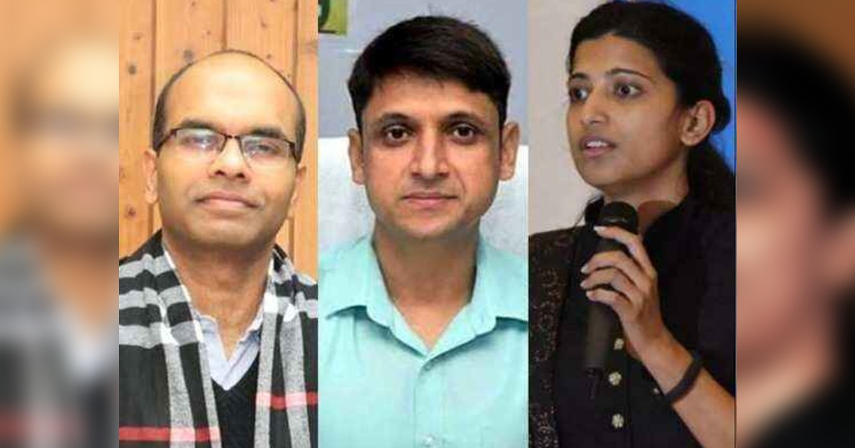 three Ias Officers