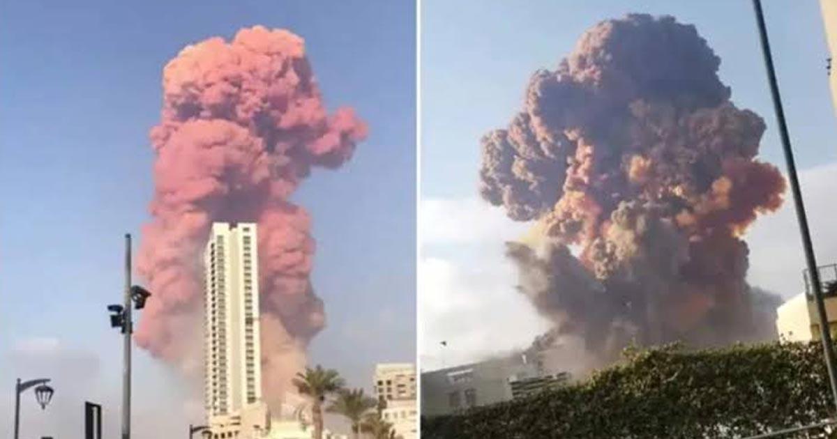 Lebanese blast