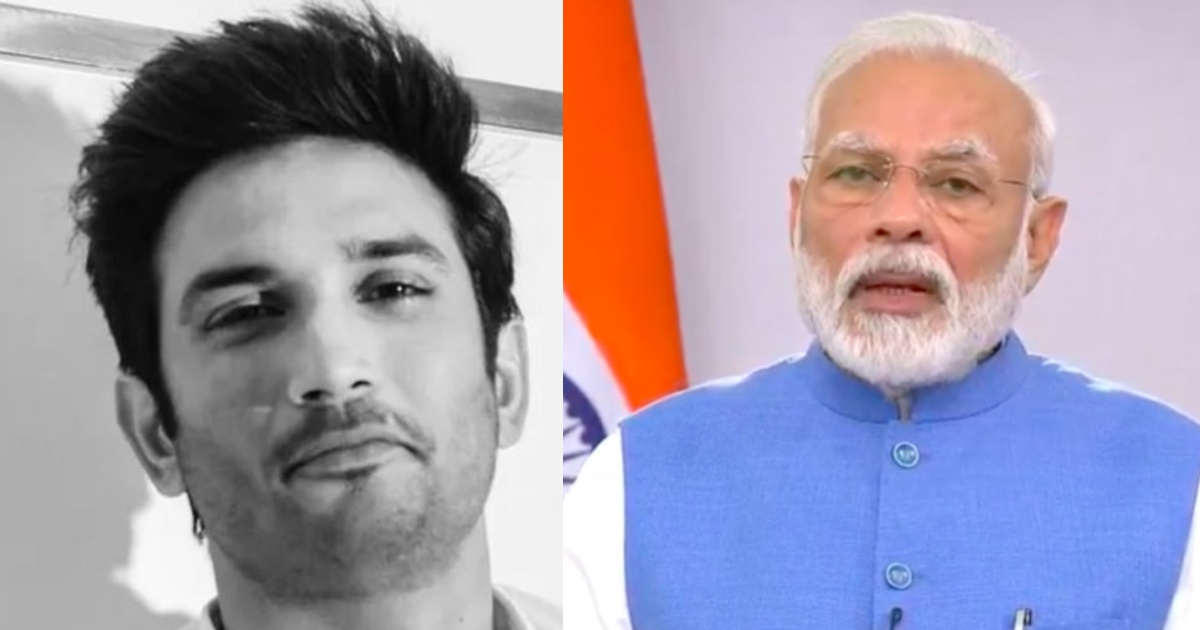 PM ModiPM Modi Shushant singh Rajput