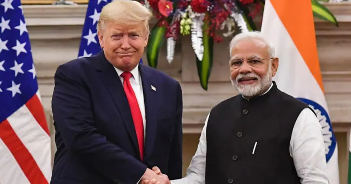 PM Modi For Donald Trump