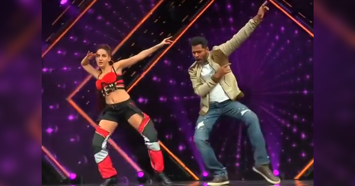 http://www.meranews.com/backend/main_imgs/NoraandPrabhuDeva_nora-fatehi-dance-in-red-outfit-with-prabhu-deva-on-garmi-song-video_1.jpg?29?33