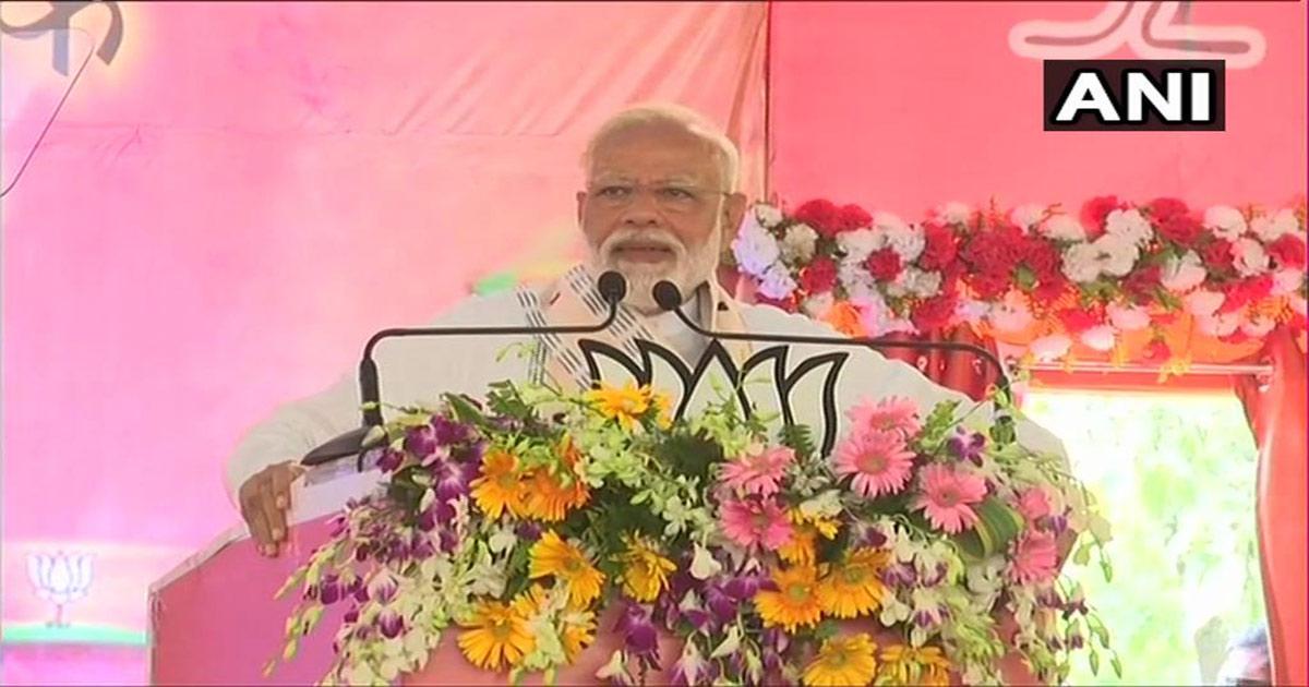 PM Modi at Varanasi