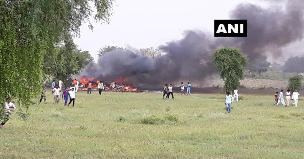 MiG 27 crashesMiG 27 crash