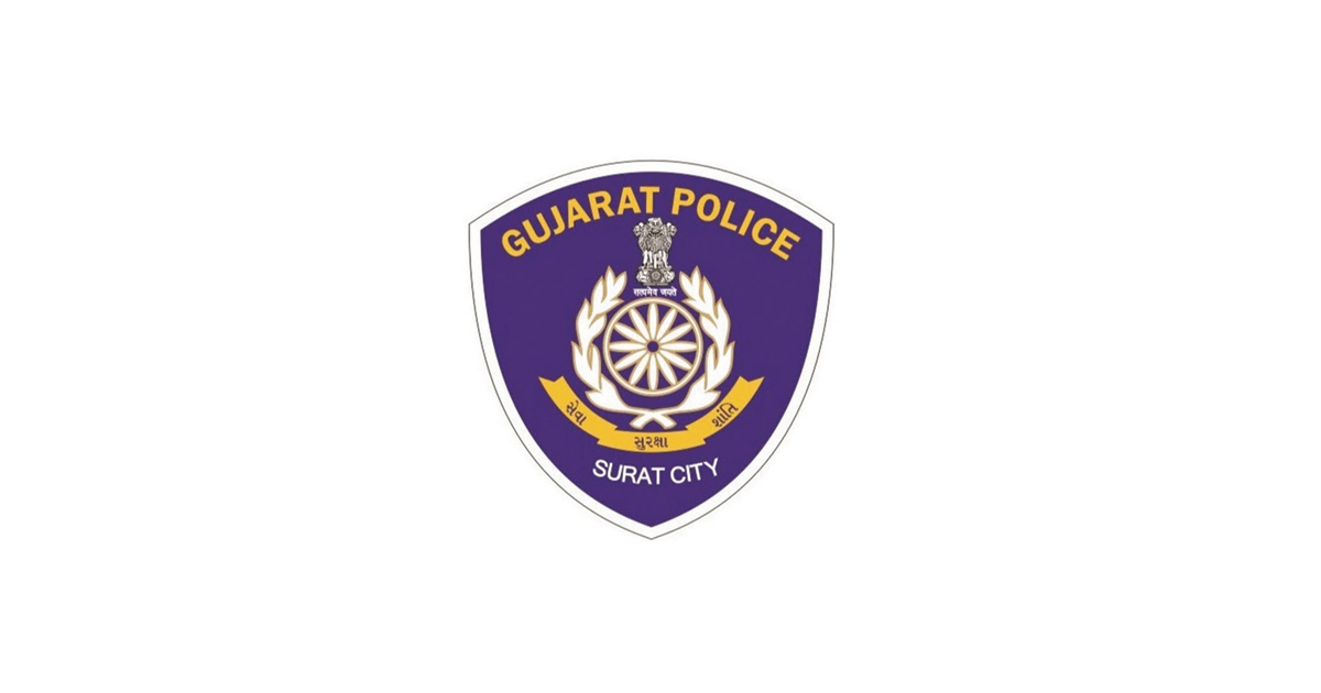 surat police logo