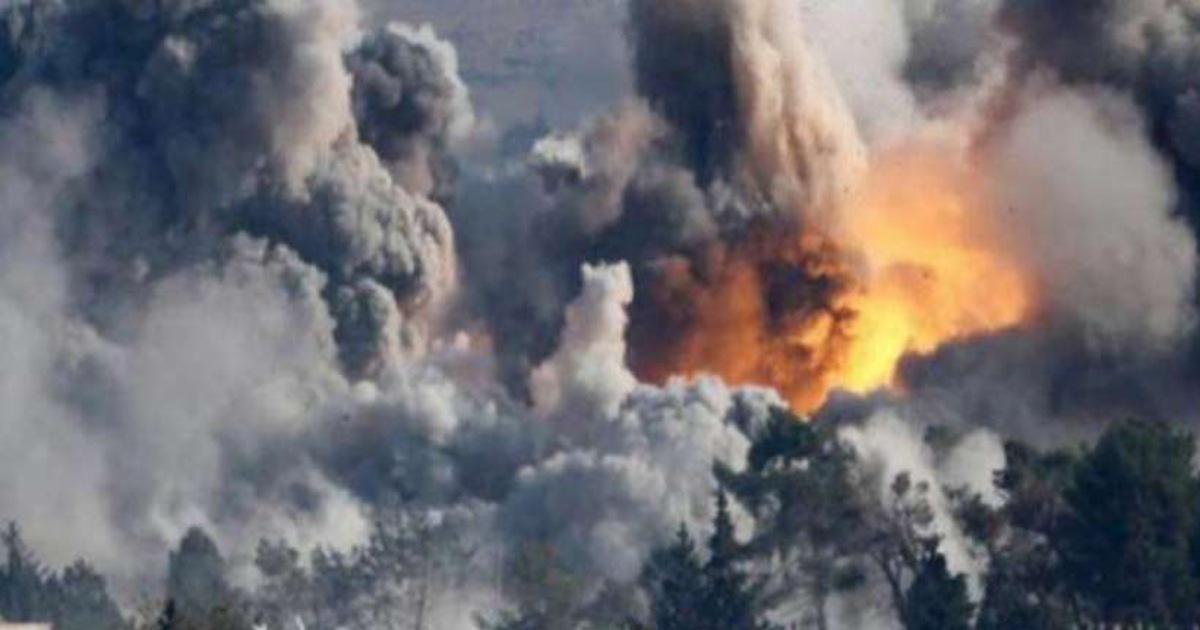 Air Strikes on Taliban