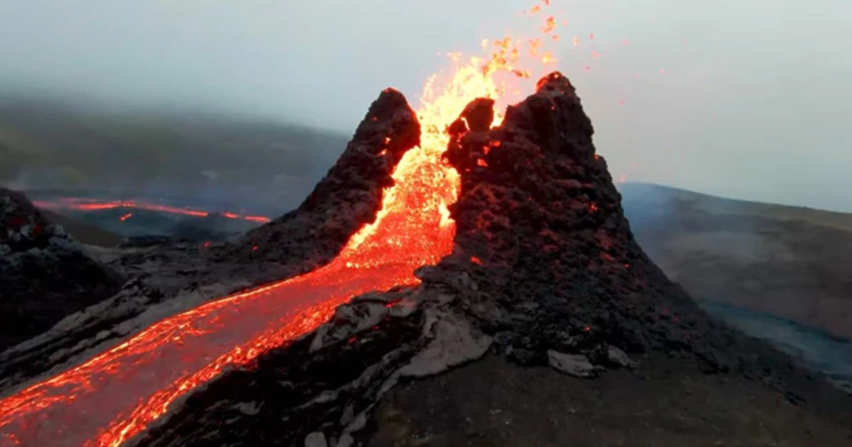 Footage Of Volcano