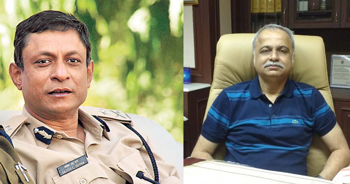 yatin oza and IPS verma