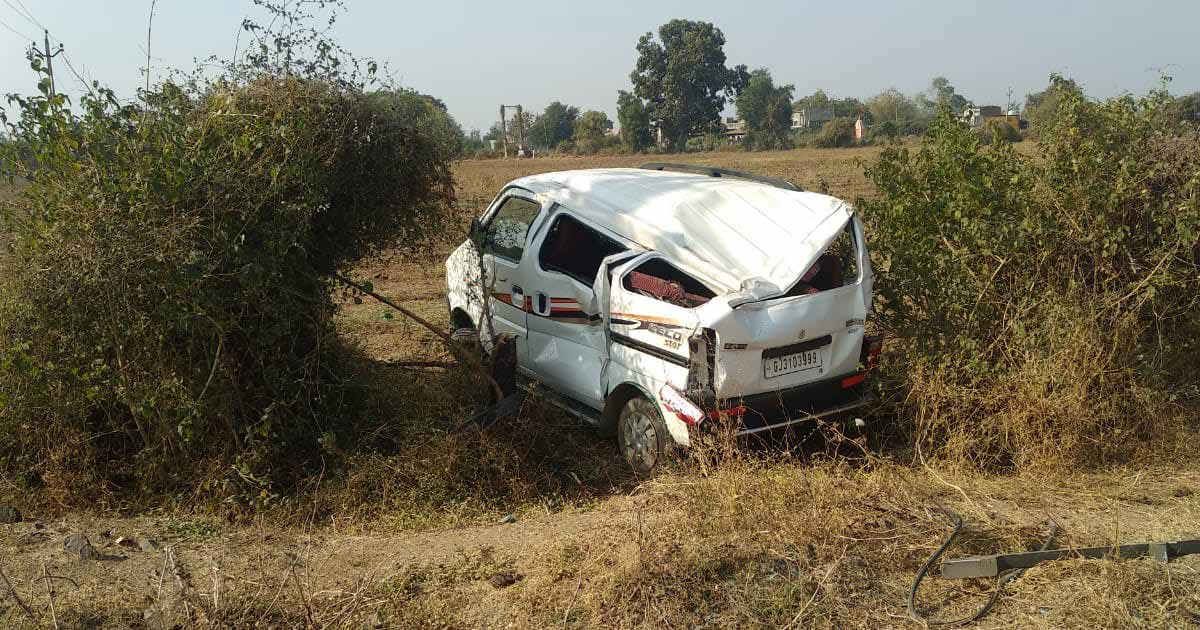 Accident in Dhansura