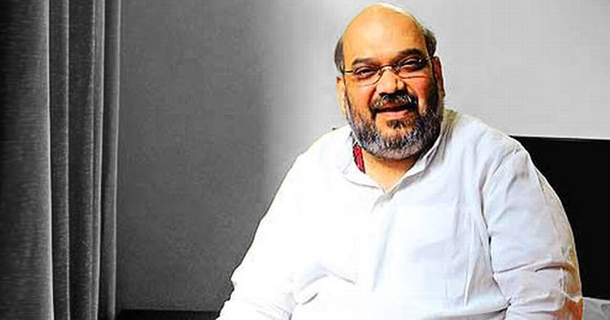 Amit Shah admitted in hospital