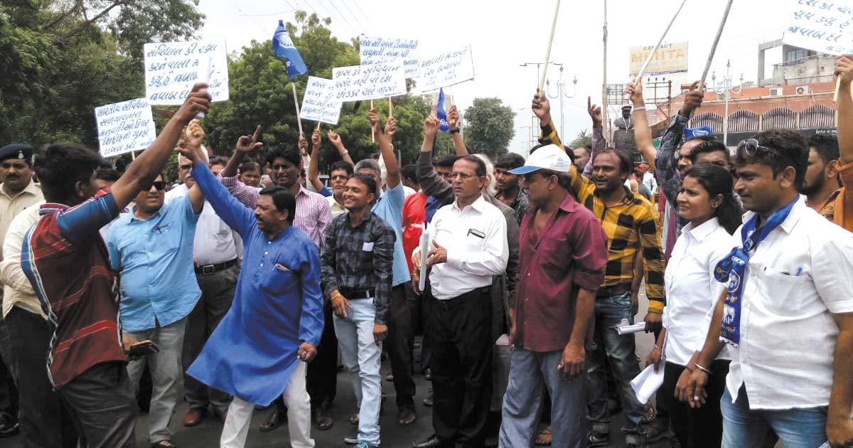 dalit protestdalit protest