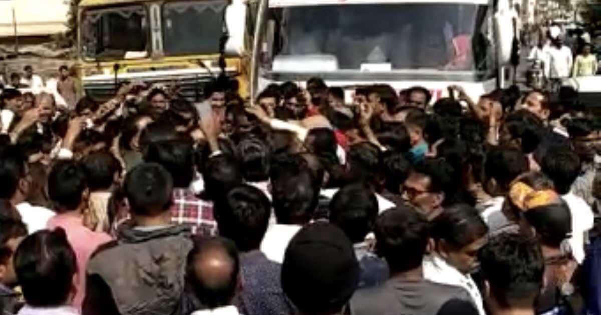 Dhansura Thief Protest
