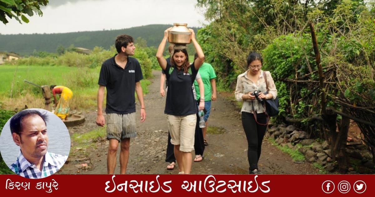 Kiran Kapure village tourism
