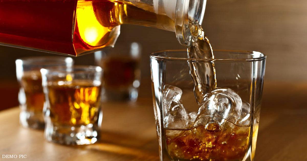 liquor case