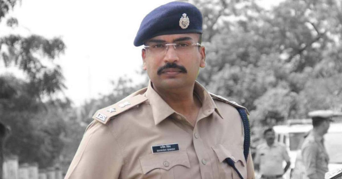 Mehsana SP Manish Singh