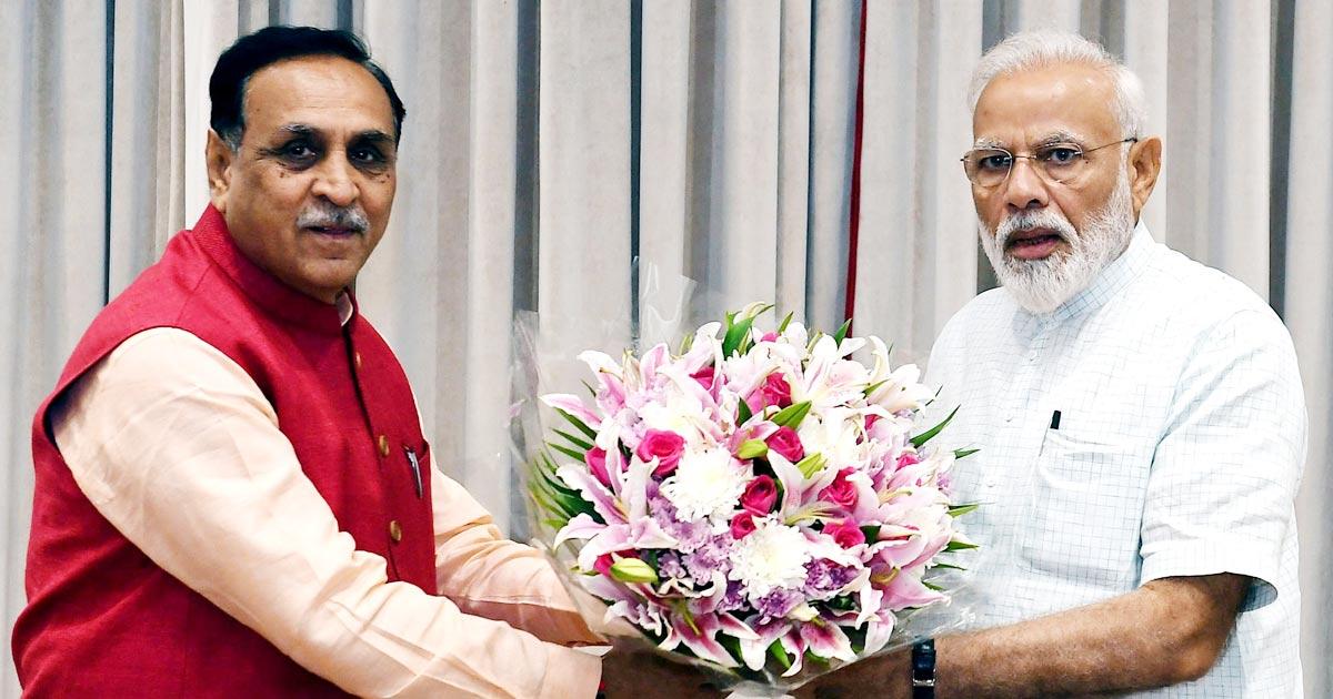 PM Modi & CM Rupani