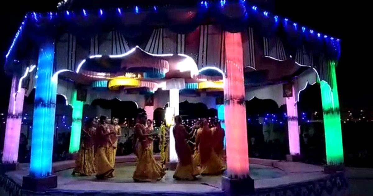 Navratri 2018 Mandap