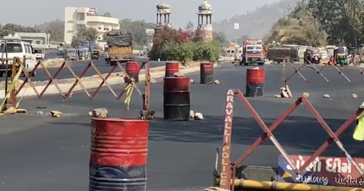 Rajasthan border