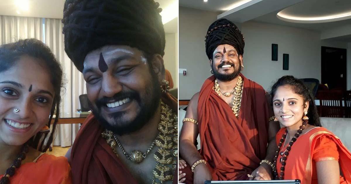 Nityanandita and Swami nityanand
