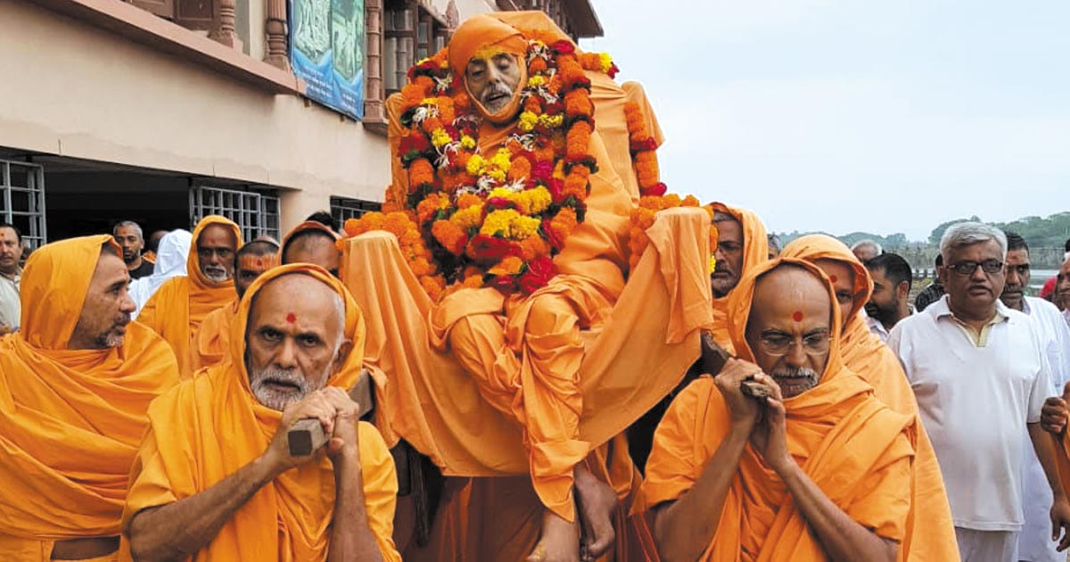 BAPS saint Gujarat