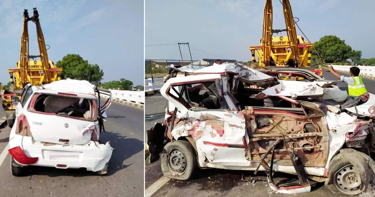 Car Accident at Vadodara