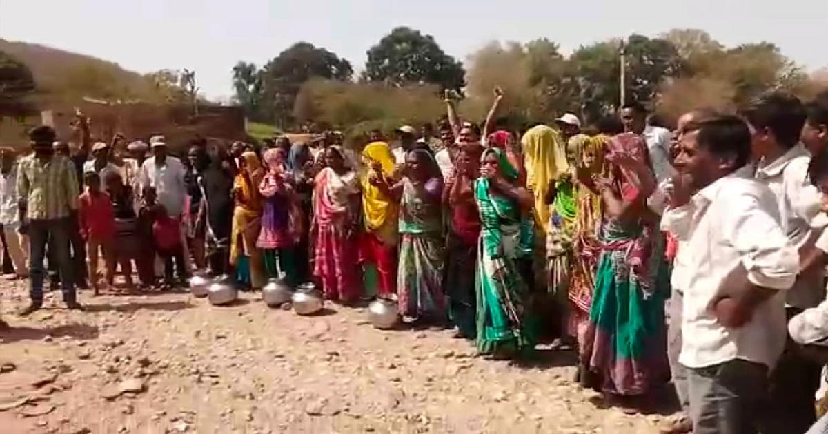 protest for water